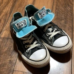 Black Converse all stars sneakers